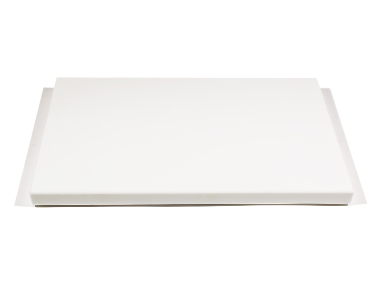 Duża Deska Do Kuchni W Czystobiałym Kolorze Szklana
