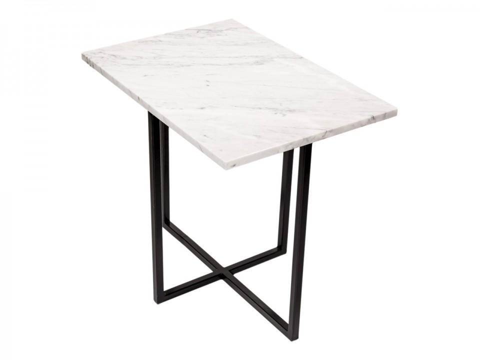 Prznośny stolik Bianco Carrara