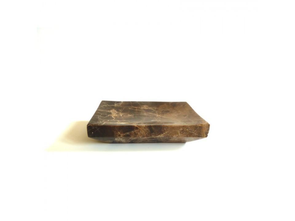 Mydelniczka z kamienia naturalnego Emperador Dark