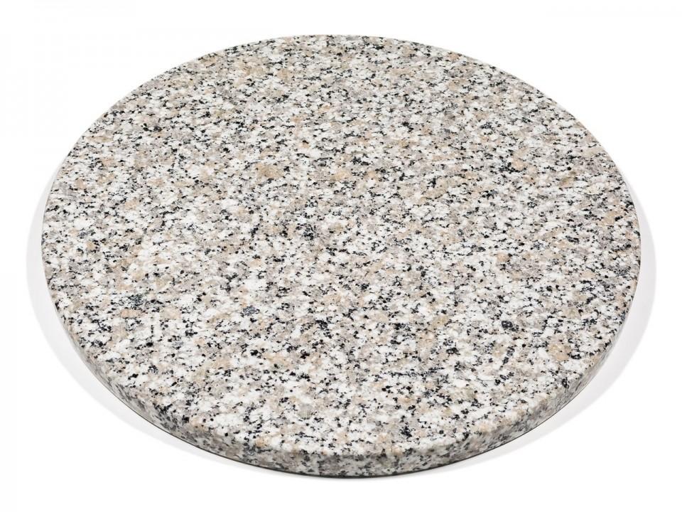 Okrągły kamień do pizzy + drewniana łopata w zestawie