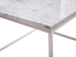 Stolik kawowy Dritto marmurowy Bianco Carrara Artigiano