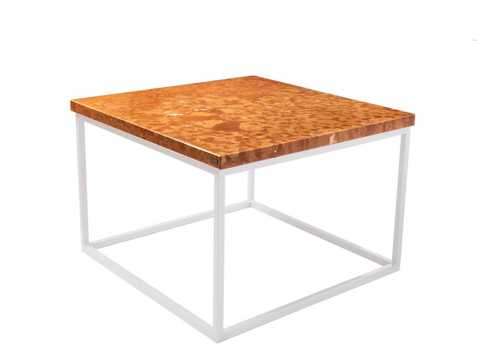 Stylowy stolik kawowy z intrygującym blatem