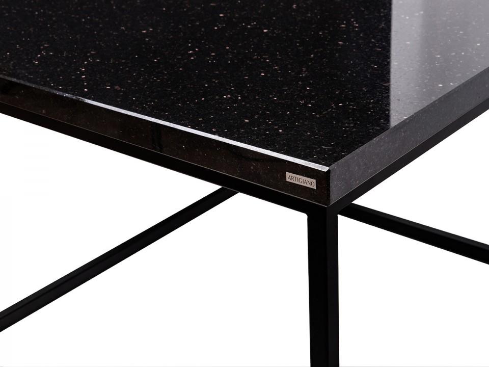 Ekskluzywny granitowy stolik w czarnym wydaniu
