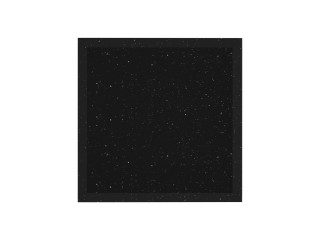 Podstawka kolumnowa z granitu Star Galaxy 30x30x3 cm.