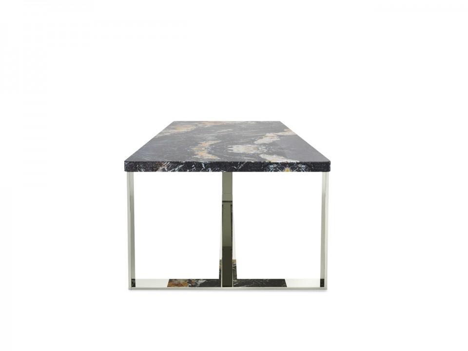 Niski stolik kawowy Belveder do narożnika. Wymiary 100x60cm, wysokość 42cm