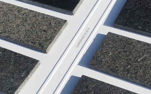 Jak mozna wykończy powierzchnię kamienia. Próbki granitów o różnej strukturze.