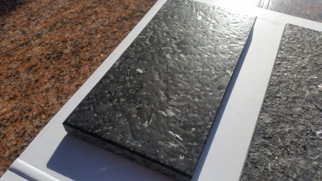 Satynowany (antykowany) granit Cambrian Black